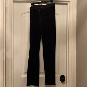 Juicy Couture Navy Velour Sweatpants